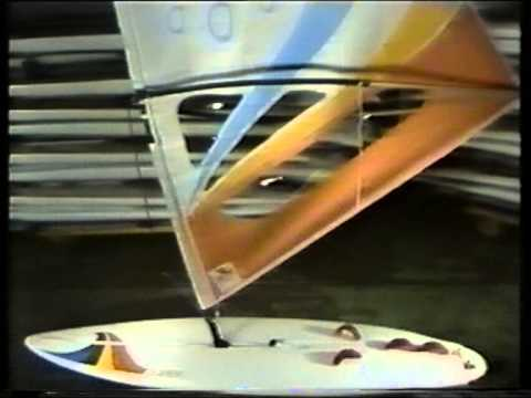 Windsurf - Ten Cate - Board Manufacturer - 1980s - YouTube