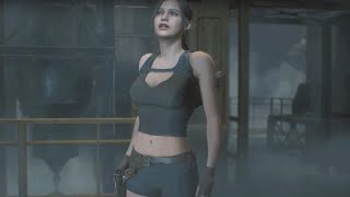 RESIDENT EVIL 2 RE Claire Redfield Claire croft outfit mod