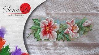 Ramo de Flores em Tecido por Sonalupinturas