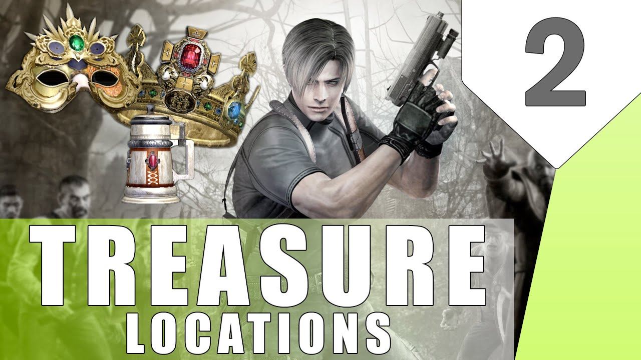 Resident evil 4 hidden treasure locations part 2 youtube resident evil 4 hidden treasure locations part 2 aloadofball Image collections