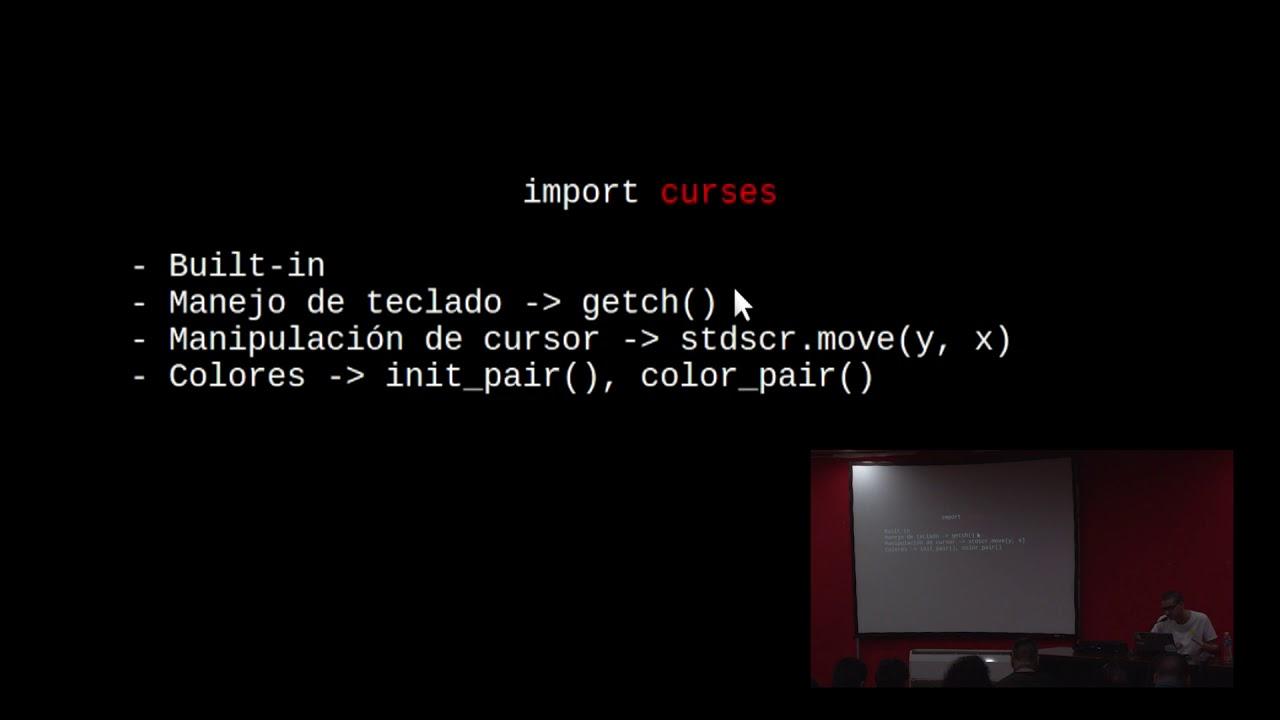 Image from Aprendiendo CURSES y BLESSINGS para Terminal Scripting, por Martín Nieva