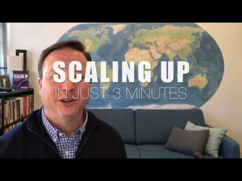 Scaling Up in 3 minutes