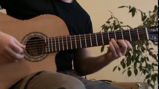 Cancion del Mariachi guitar lesson with TAB - acoustic guitar cover