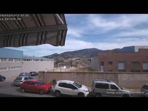 Timelapse Alcoi - La Serreta 24-03-2019