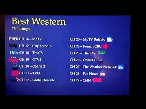 BW+ TV Listings Channel