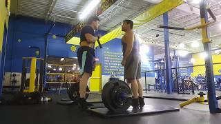 gym kickout