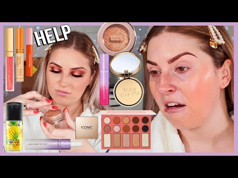 full-face-of-first-impressions-💦-lots-of-new-drugstore-makeup-yasss-beeetch