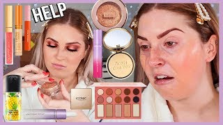 FULL FACE of FIRST IMPRESSIONS 💦 lots of NEW drugstore makeup yasss beeetch