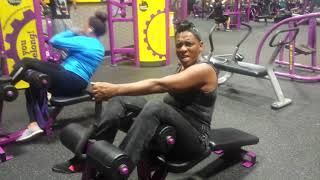 Auntie Fee & Tavis Last work out togeather