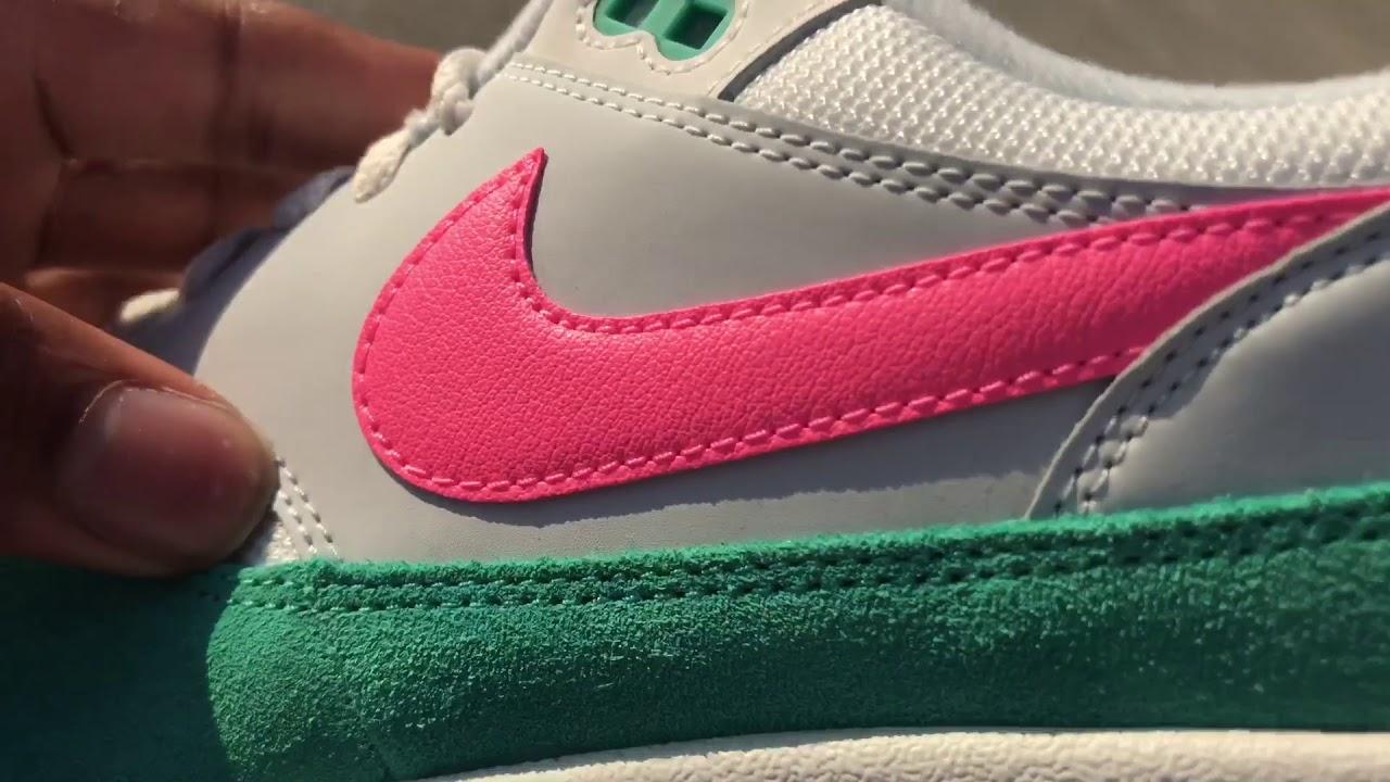 Nike Air Max 1 watermelon south beach review