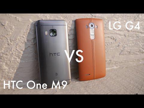LG G4 vs. HTC One M9