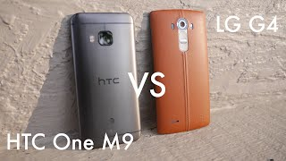 LG G4 vs. HTC One M9