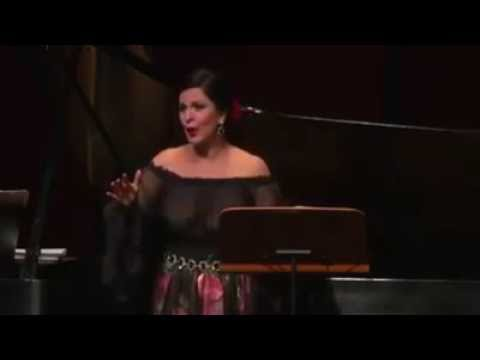 Angela Gheorghiu (2015) - Mon coeur s'ouvre à ta voix (with piano accompaniment)