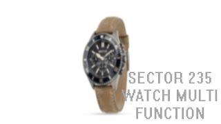 Обзор Sector 235 WATCH MULTI FUNCTION/Как восстановить кожаный ремешок