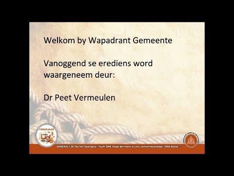 Die praktyk van dissipelskap - Peet Vermeulen (16 Jul 2017)