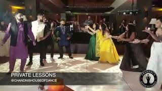 MADE IN LONDON Reception Performance | Family Punjabi Reception Dance |