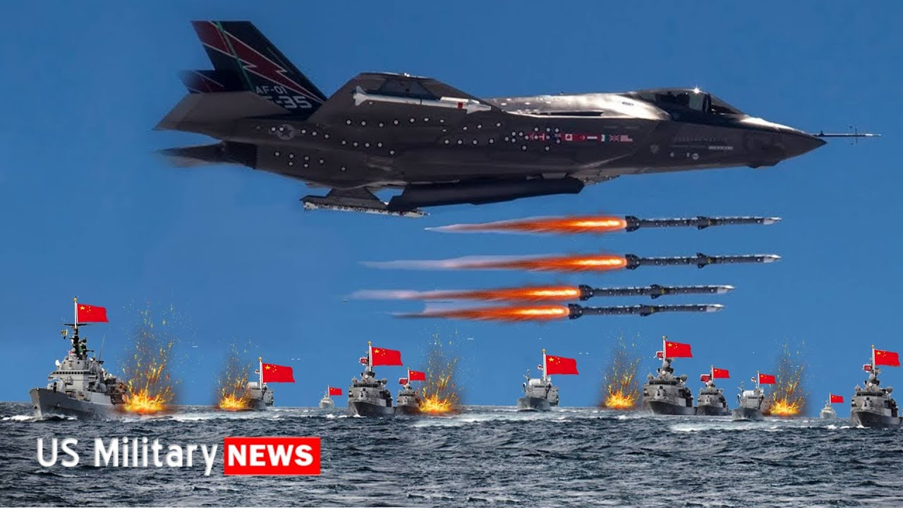 F-35: The Only Way to Win a War Against China