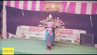 ఆదిపరాశక్తి కోపం డాన్సులో చూడండి (Adhiparashakti Classical Dance)