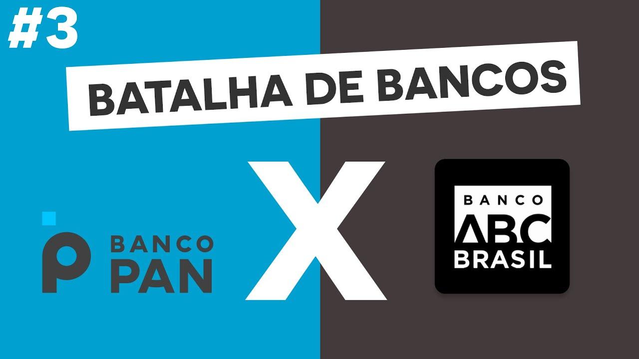 BPAN4 X ABCB4   Banco Pan ou Banco ABC - Quem leva a melhor no nosso 3º duelo da batalha de bancos!