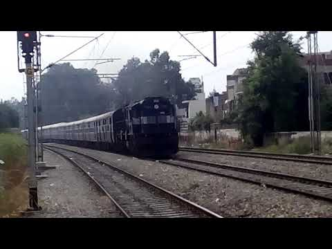 22446 Amritsar Kanpur Exp@ with AlCo locomotive Diesal