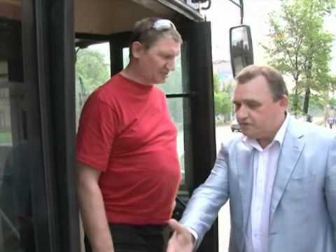 Работа общественного транспорта в Вологде