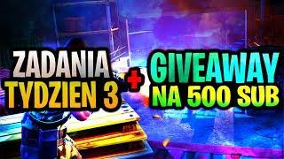 RESCUE GIVEAWAY!! Desafíos de la Temporada 4/3 Tydzien Fortnite Battle Royale