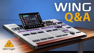 Behringer Wing FAQ: DAW, DCA, Latency, Expansion Cards and more