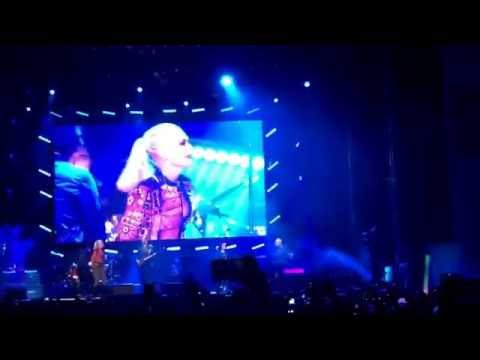 Sting & Gwen Stefani at Oracle AT&T park event