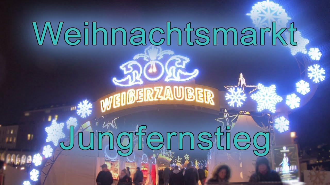Jungfernstieg Weihnachtsmarkt.Weisserzauber Jungfernstieg Weihnachtsmarkt Hamburg 2018 Marchenschiffe Hamburg And Travel