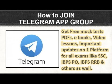 How to JOIN TELEGRAM APP GROUP via LINK in mobile