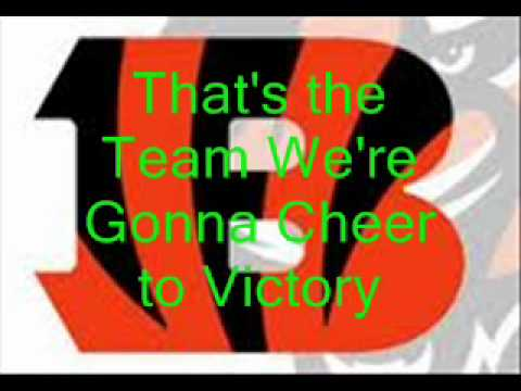 Bengals Fight song with lyrics