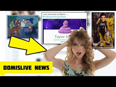 Twitter ROASTED Taylor Swift After Kim Kardashian Snapchat Video Ft Kanye West