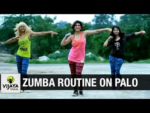 Zumba Routine on Palo by Watatah | Zumba Dance Fitness | Choreographed by Vijaya Tupurani