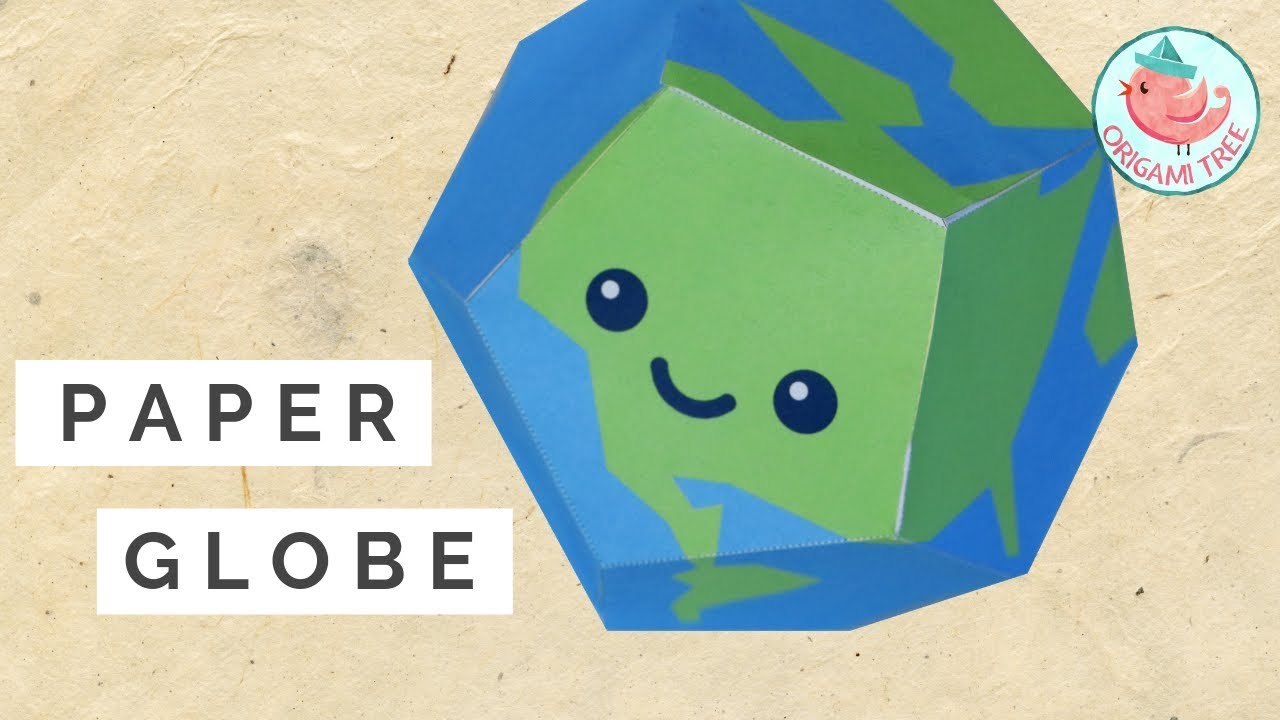photo about Printable Globe Template titled Paper World (Free of charge Printable Template) »