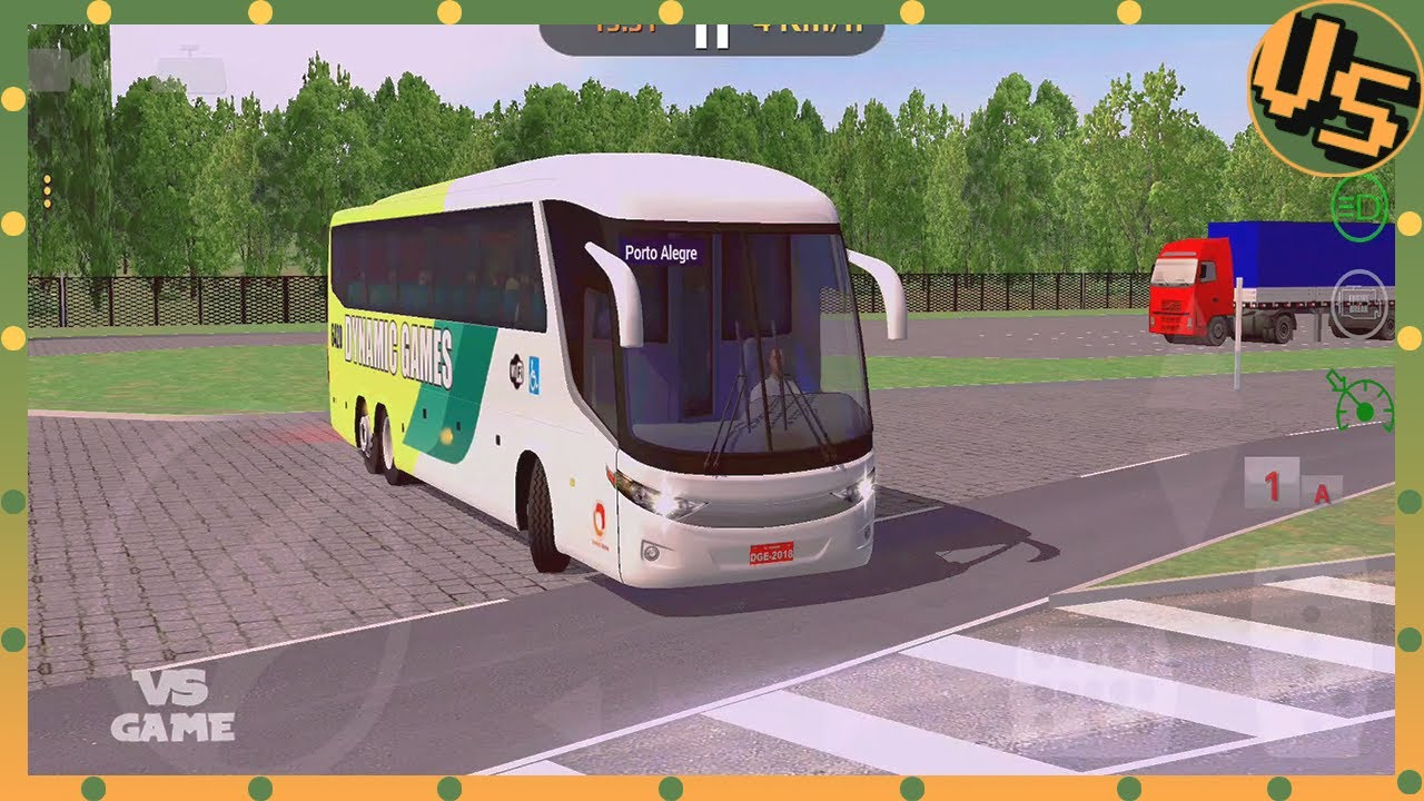 New Bus Driving in Brazil   World Bus Driving Simulator Android Gameplay