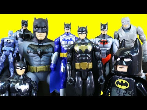 World's Biggest Just4fun290 Batman Family Toy Collection Over 100 Batman Toys