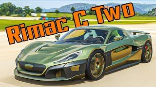 นี่คือรถที่เงียบที่สุดในเกมส์ (ForzaHorizon 4 Rimac C Two)