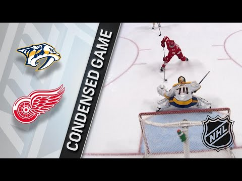 02/20/18 Condensed Game: Predators @ Red Wings