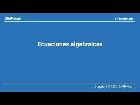 6. Unidad 6. Ecuaciones algebraicas