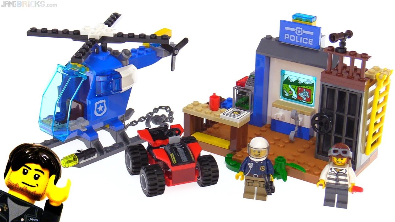 LEGO Juniors Mountain Police Chase review 👮 10751