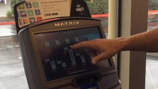 MATRIX XIR Console Demo - Fitness Shop