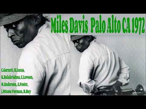 Miles Davis live  Palo Alto CA 1972