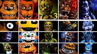 Five Nights at Freddy's 1 - 4 + Sister Location Jumpscare Simulator | FNAF Fan Game thumbnail