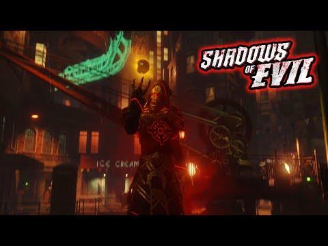"Black Ops 3 Zombies ""Shadows of Evil"" Easter Egg Ending Gamplay Walkthrough! (BO3 Zombies)"