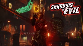 "Black Ops 3 Zombies ""Shadows of Evil"" Easter Egg Ending Gamplay Walkthrough! (BO3 Zombies)"