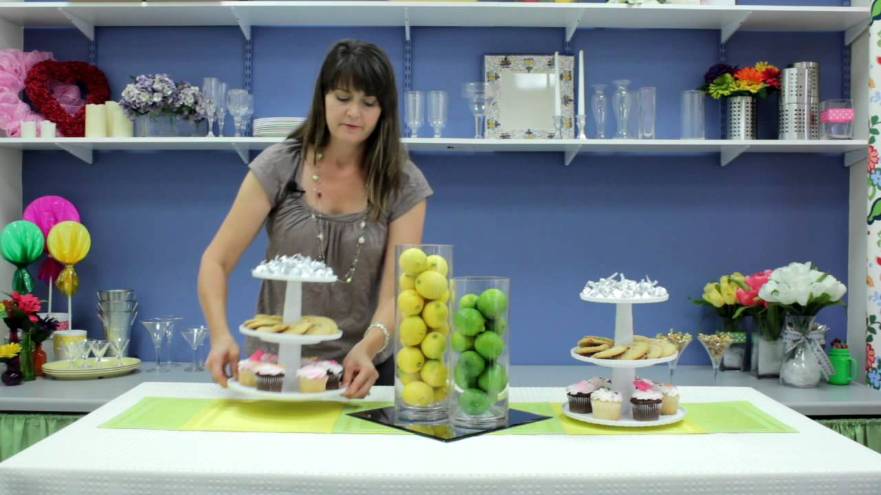 How To Decorate A Dessert Table With Fruit Table Decorations