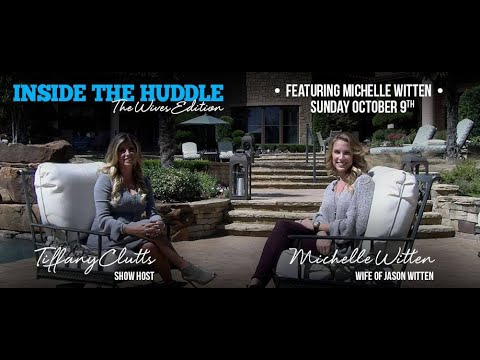 Inside the Huddle Cowboys Live The Wives Edition | Host Tiffany Clutts & Michelle Witten | NFL Wives