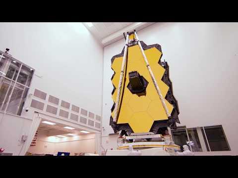 NASA's Webb Telescope Pirouettes at NASA's Jonhson Space Center