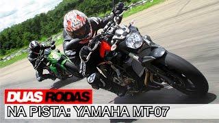 teste yamaha mt 07
