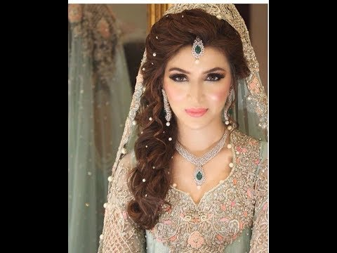 Stylish And Trendy Pakistani Bridal Wedding Hairstyles For Special